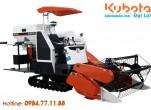 Ứng dụng máy gặt đập Kubota vào trồng lúa