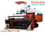 Loại máy gặt đập Kubota vận hành tự động