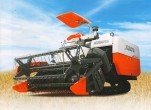Cơ chế hoạt động của máy gặt đập liên hợp Kubota