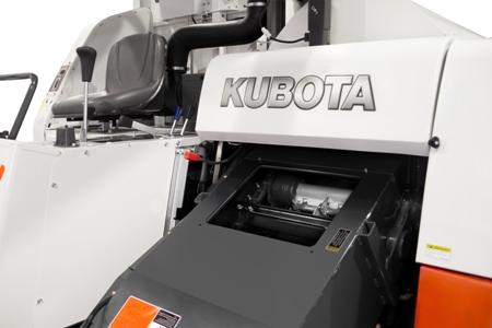 Nắp thùng băng tải Máy gặt đập liên hợp Kubota DC70 Plus