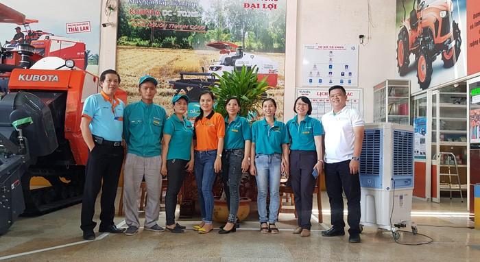 Đại diện Kubota Việt Nam ghé thăm và làm việc tại Đại lý Kubota Vinh Tùng