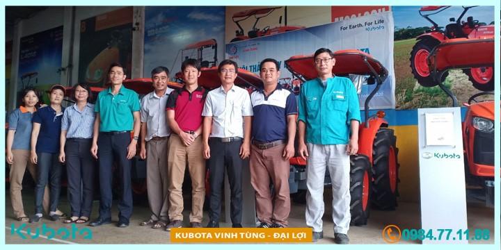 Kubota Vietnam đánh giá khả năng đáp ứng phụ tùng tại Kubota Vinh Tùng